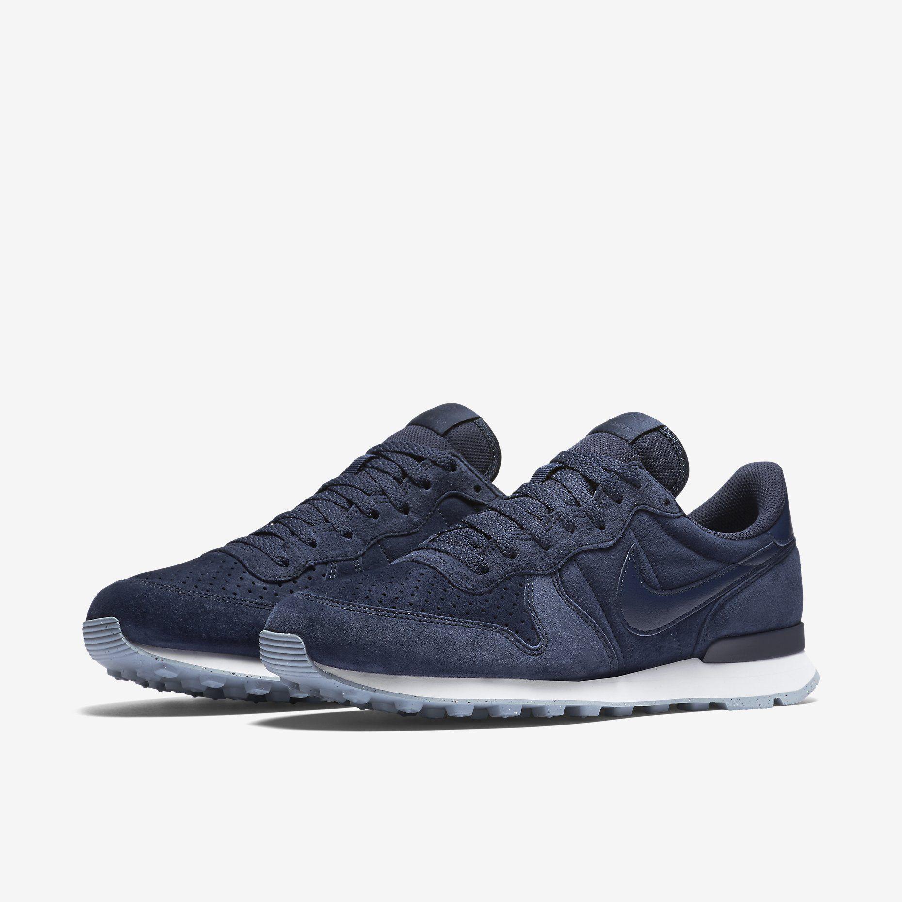 Nike Internationalist Premium (Obsidian/White/Obsidian)