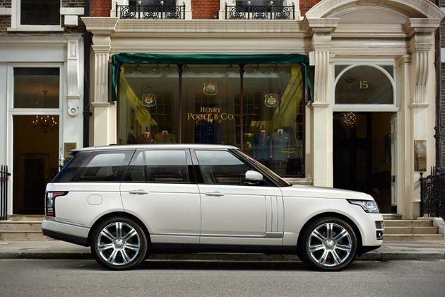Range Rover Long Wheelbase >> 2014 Land Rover Range Rover Long Wheelbase Rides Range