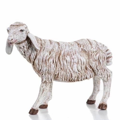 Pecora in piedi presepe Fontanini 45 cm | vendita online su
