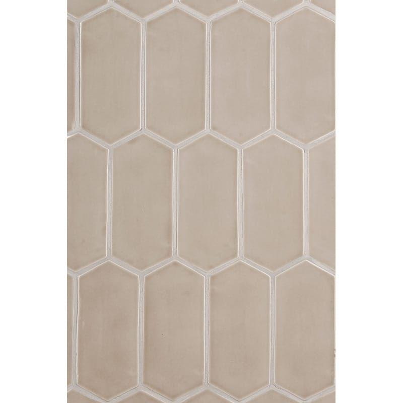 Latte Glossy Picket Ceramic Tiles 3x6 In 2020 Ceramic Tiles Ceramics Glazed Ceramic Tile