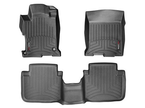 2013 Honda Accord Weathertech Floorliner Custom Fit Car Floor Protection From Mud Water Sand And Salt Weather Tech Weather Tech Floor Mats 2013 Ford Fusion