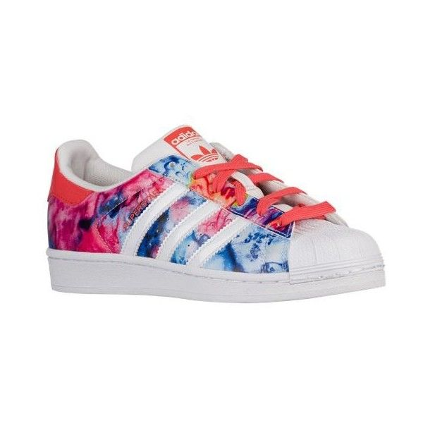 adidas Originals Superstar - Girls' Grade School - Shoes ($70) ❤ liked on Polyvore featuring shoes
