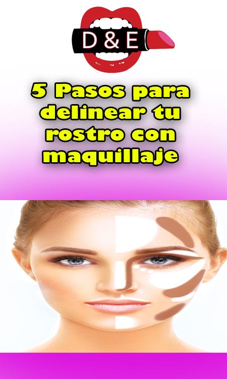 cfbebd043 5 Pasos para delinear tu rostro con maquillaje #ROSTRO #DELINEAR | Belleza  | Maquillaje, Belleza y Delineados