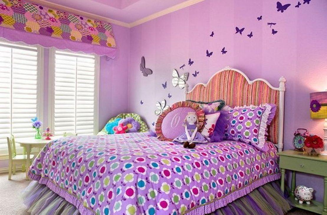34 Cute Butterfly Theme Bedroom Decor Ideas Wall Decor Bedroom