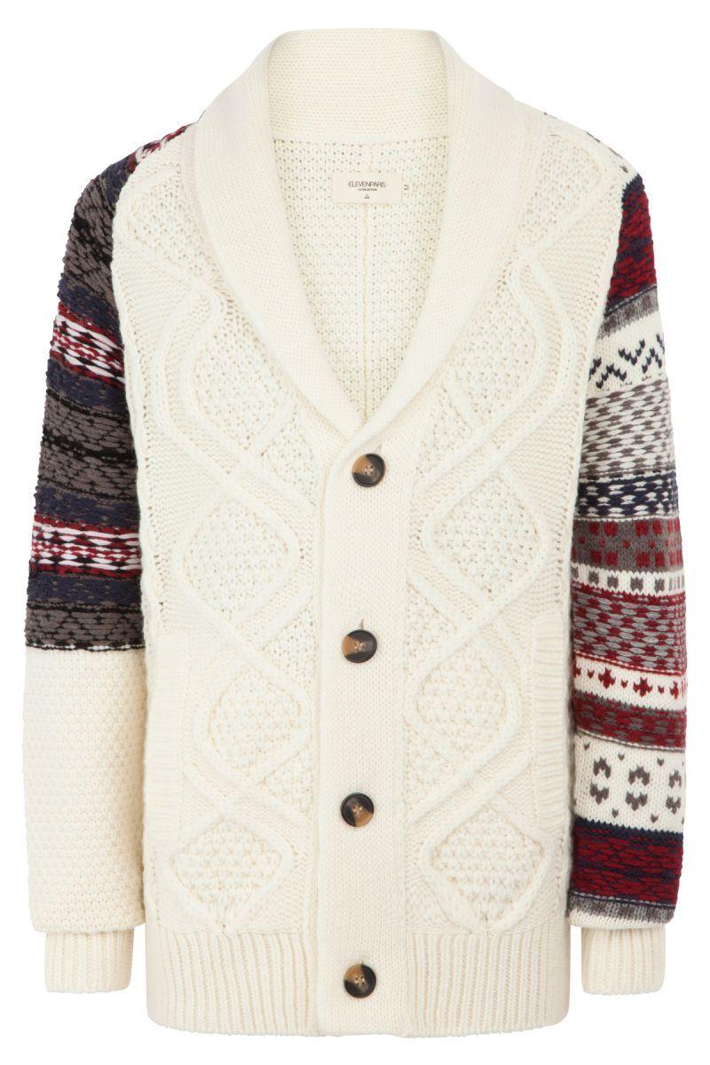 Kreer Men's Wool Sweater #ElevenParis Fall/Winter '14
