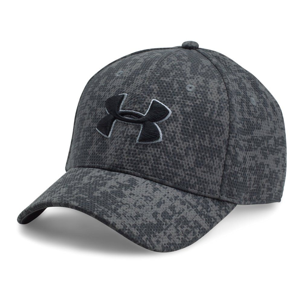 9f3cd0692f795 Under Armour Men s Printed Blitzing Stretch Fit Cap