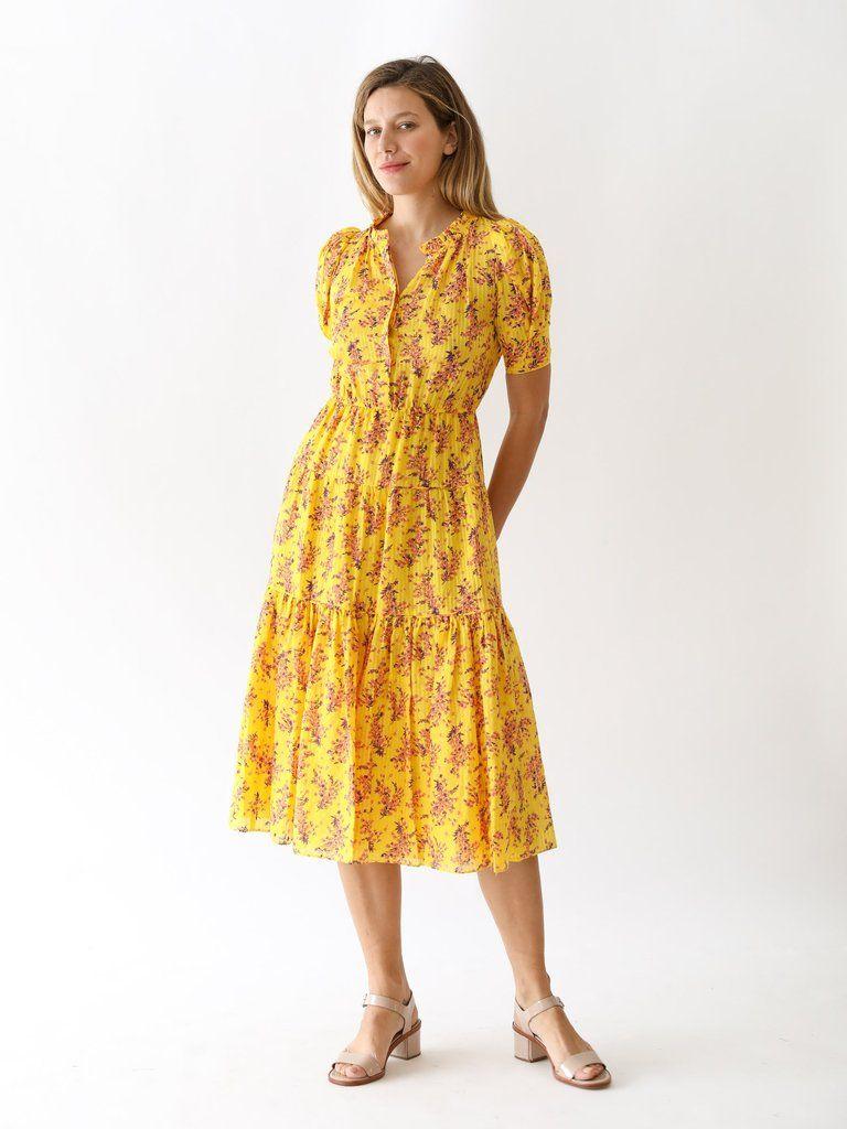 9d548aa64a Corrine Dress in Chartreuse in 2019 | www.shopmille.com | Dresses ...