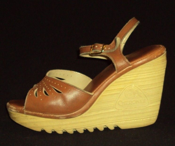 Cherokee wedge shoes wore these in high