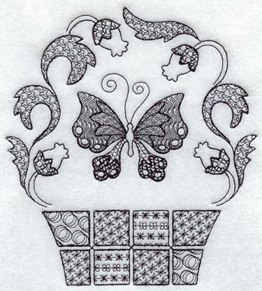 Free Black Work Designs   Machine Embroidery Designs at Embroidery Library! - New This Week