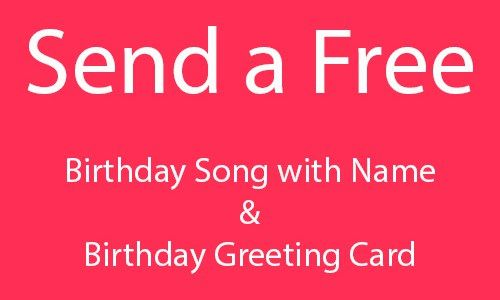 Doc470258 Personalized Birthday Cards Free Free Personalized – Happy Birthday Singing Cards Free