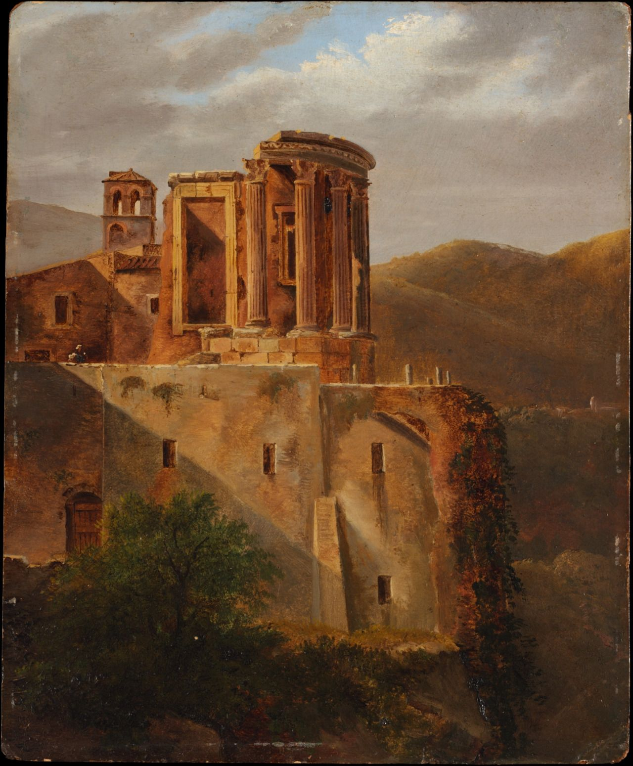 The Temple of Vesta, Tivoli, c. 1810–15. Unknown Artist, French Painter (early 19th century).