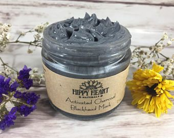 Charcoal black head mask, detoxing mask, charcoal face mask, clear skin, cystic acne, armpit detox mask