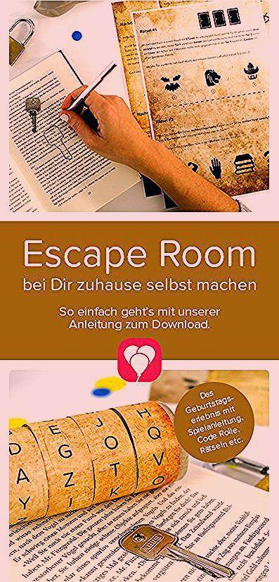 Photo of Escape Room für Kinder – Spielanleitung und Tipps | balloonas.com