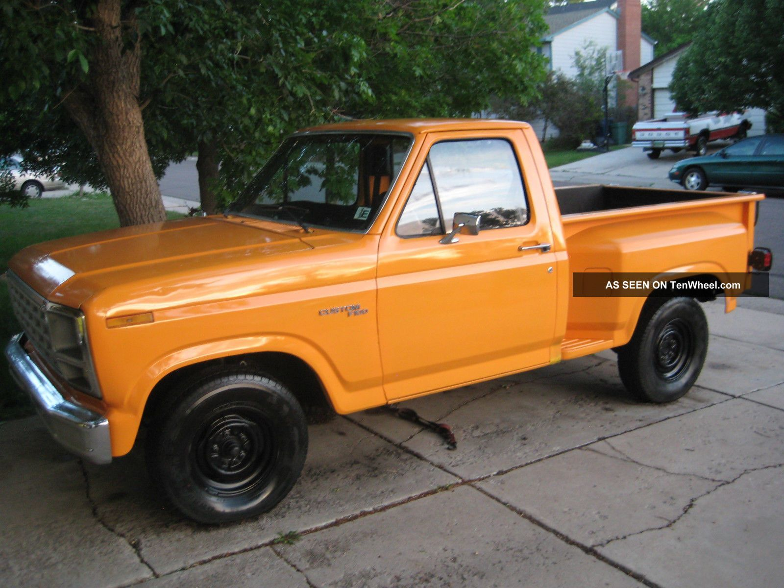 1980 ford f 100 4 9l clifford equipped inliner convention special