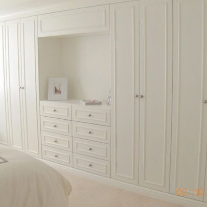 Wall Closet Design Ideas, Pictures, Remodel, and Decor #bedroom