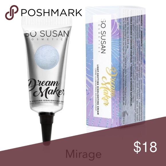 So Susan Dream Maker In Mirage Brand New In Box So Susan Cosmetics Dream Maker Light Shifting Highlighting Cream In Mir Black Heart Blue Diamond Clothes Design