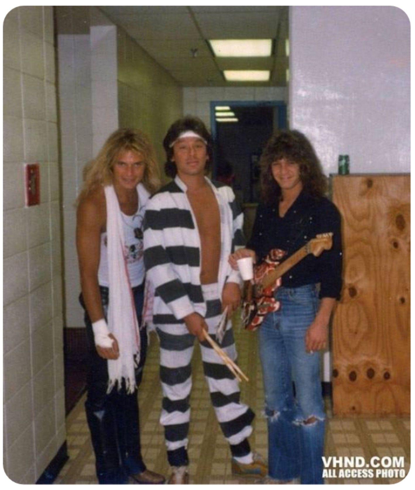 Pin By Sherri Tyler On Van Halen Van Halen Eddie Van Halen Alex Van Halen