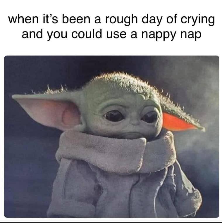 Baby Yoda Waiting For Ketchup Yoda Funny Yoda Meme Old Lady Humor