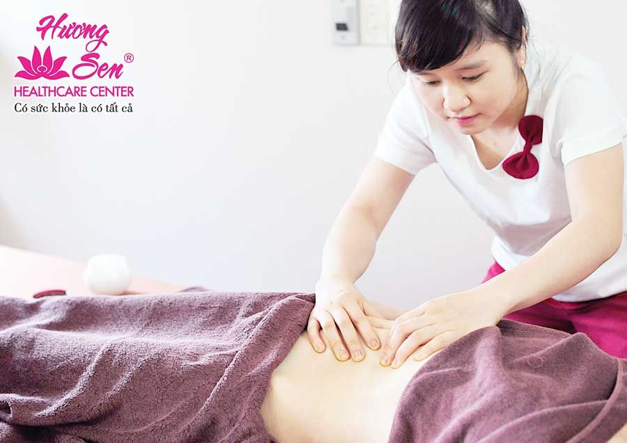 female massage huong sen