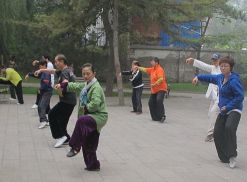 Tercera edad en China, prevención de la salud