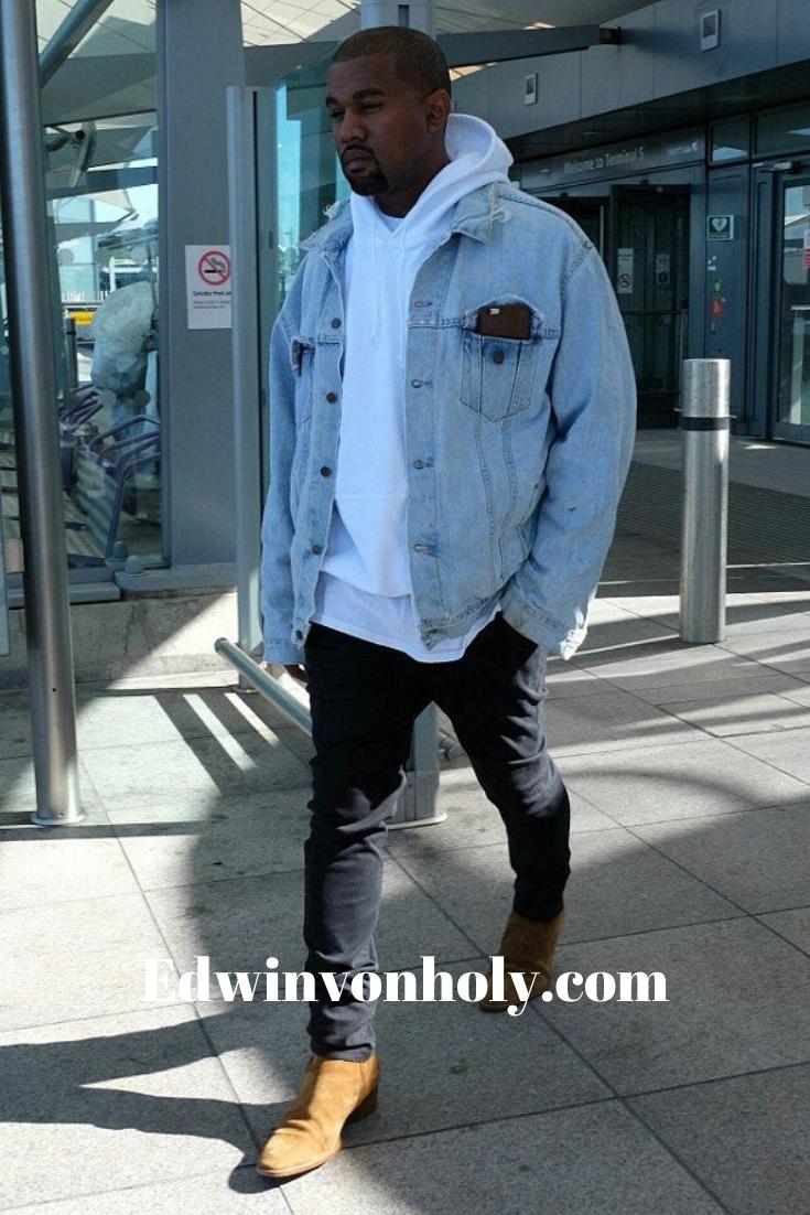 Limited Edition In 2020 With Images Denim Jacket Fashion Kanye West Outfits Kanye Fashion