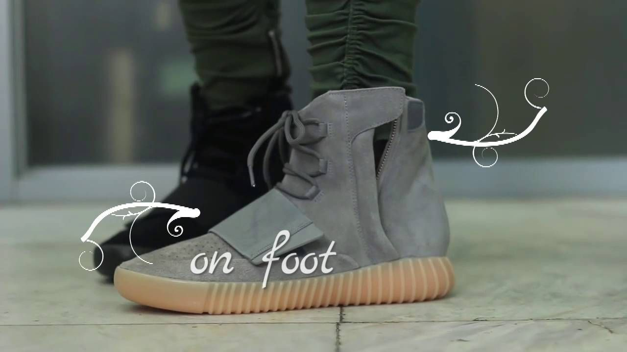 513a61cd12d2c Authentic Adidas Yeezy 750 Boost (Black Version)and