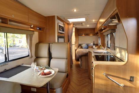 Luxurious Motorhomes Interior Deluxe Motorhome