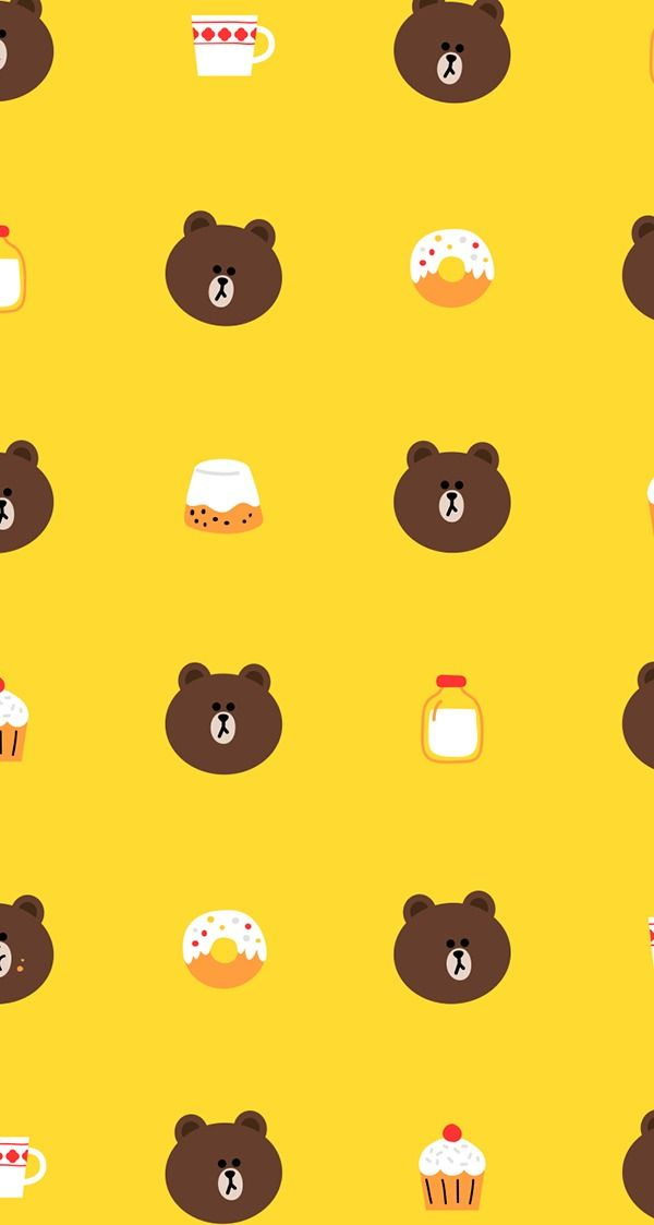 BROWN PIC | GIFs, pics and wallpapers by LINE friends