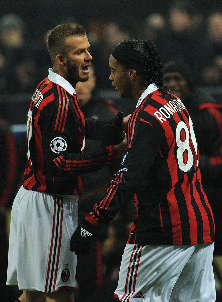 Photos Of David Beckham Vs Man Utd Ac Milan Milan Rio Ferdinand