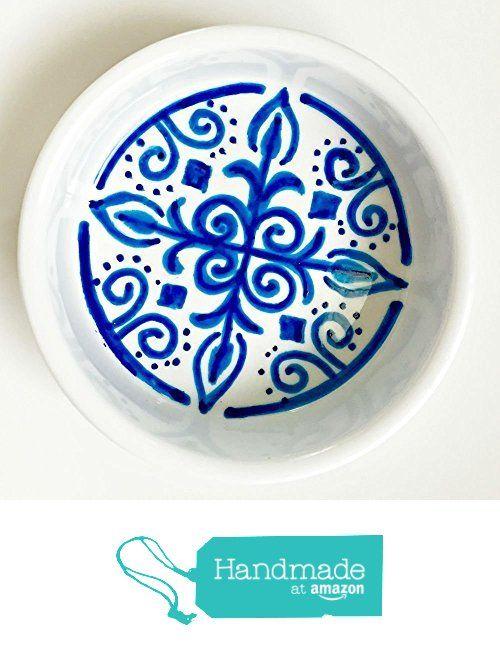 Custom Decorative Mandala Middle Eastern Ring Dishes - Set of 2 - in blue or black  sc 1 st  Pinterest & Custom Decorative Mandala Middle Eastern Ring Dishes - Set of 2 - in ...