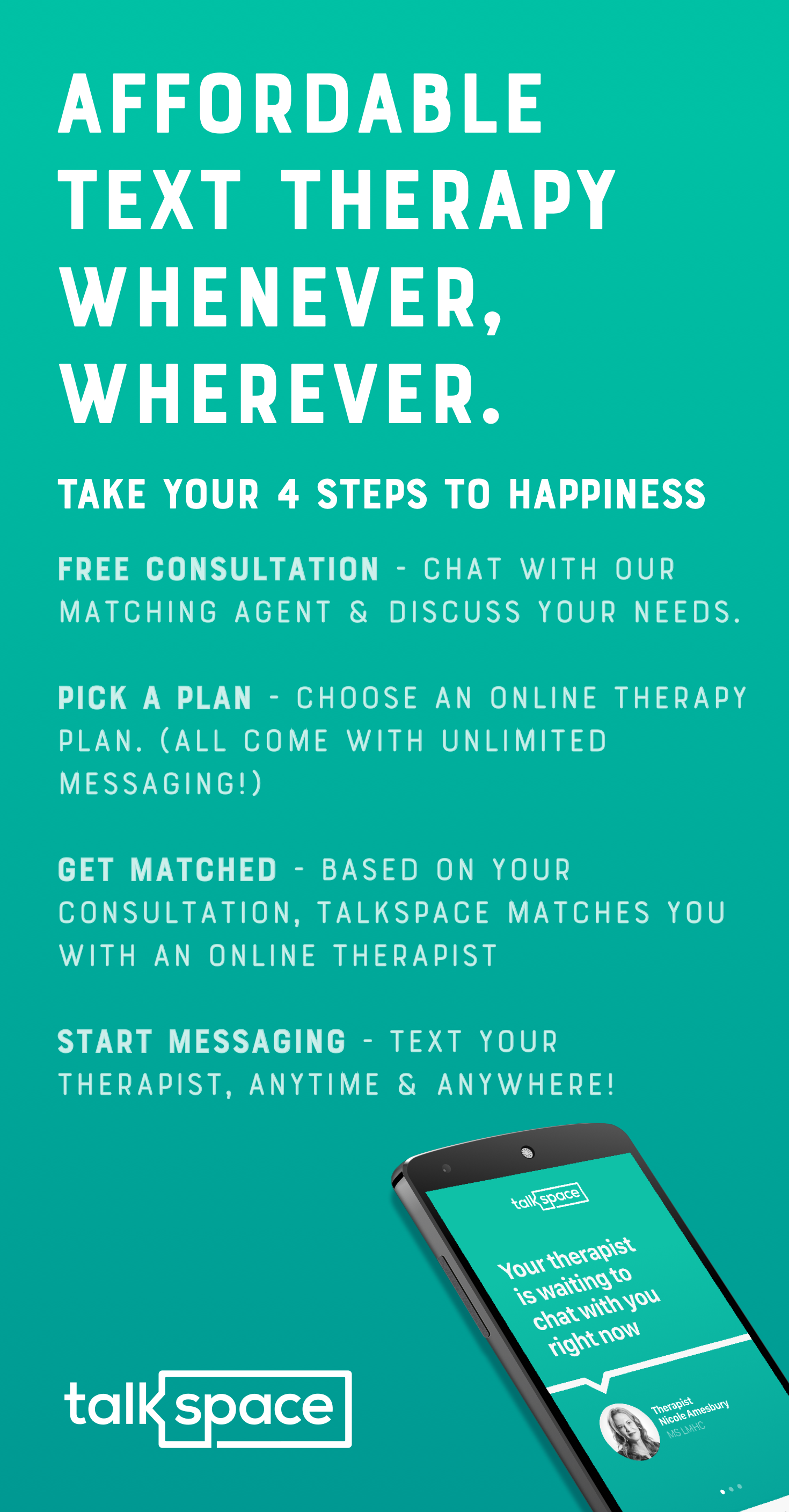 Affordable Online Therapy W Video Audio And Unlimited Messaging