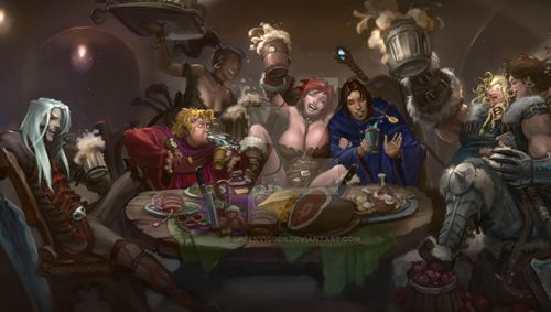 Image result for d&D tavern party