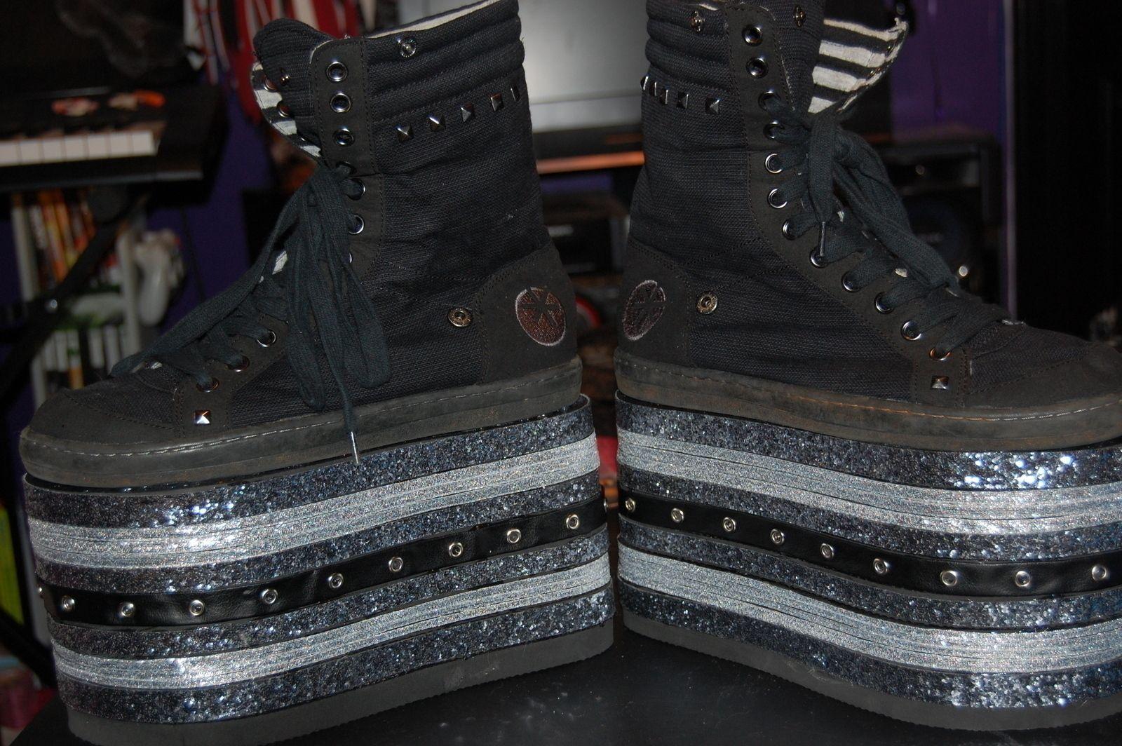 Crazy Platform Shoes Platform Shoes Rubber Shoes For Women Diy Shoes