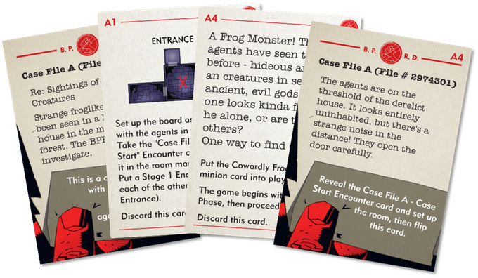 Case files Hellboy The Board Game Board games, Card games