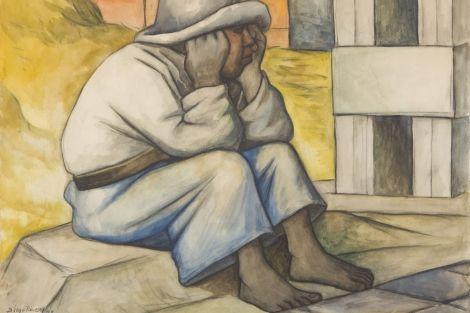 Nino Campesino De Diego Rivera Arte Latinoamericano Pinturas Mexicanas Pinturas