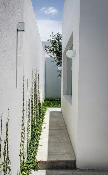 Diseño de casa moderna de un piso con tres dormitorios, hermosa - diseo de exteriores
