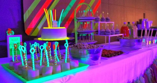 Glow In The Dark   Neon Birthday Party Ideas | Party Hours | Todaysdiva.com