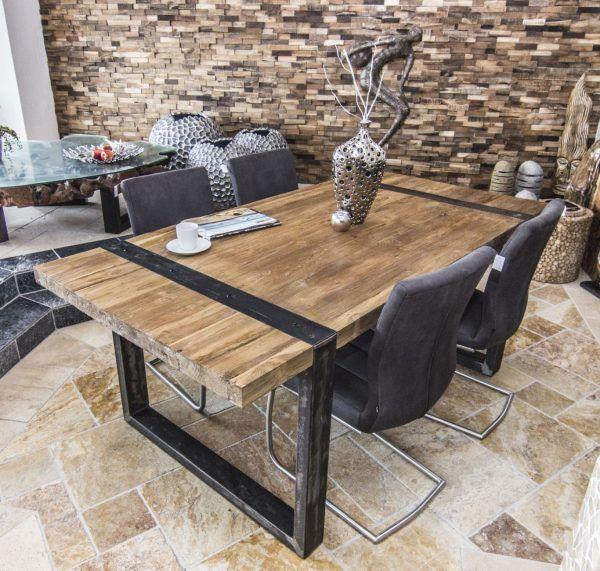 Esstisch Loft Der Tischonkel Esstische Esstisch Design Einzigartige Esstische Esstisch