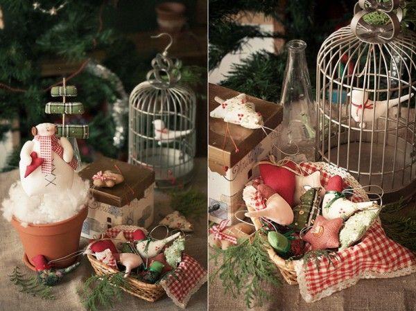 Волшебное ожидание новогоднего праздника. Елочные игрушки ручной работы