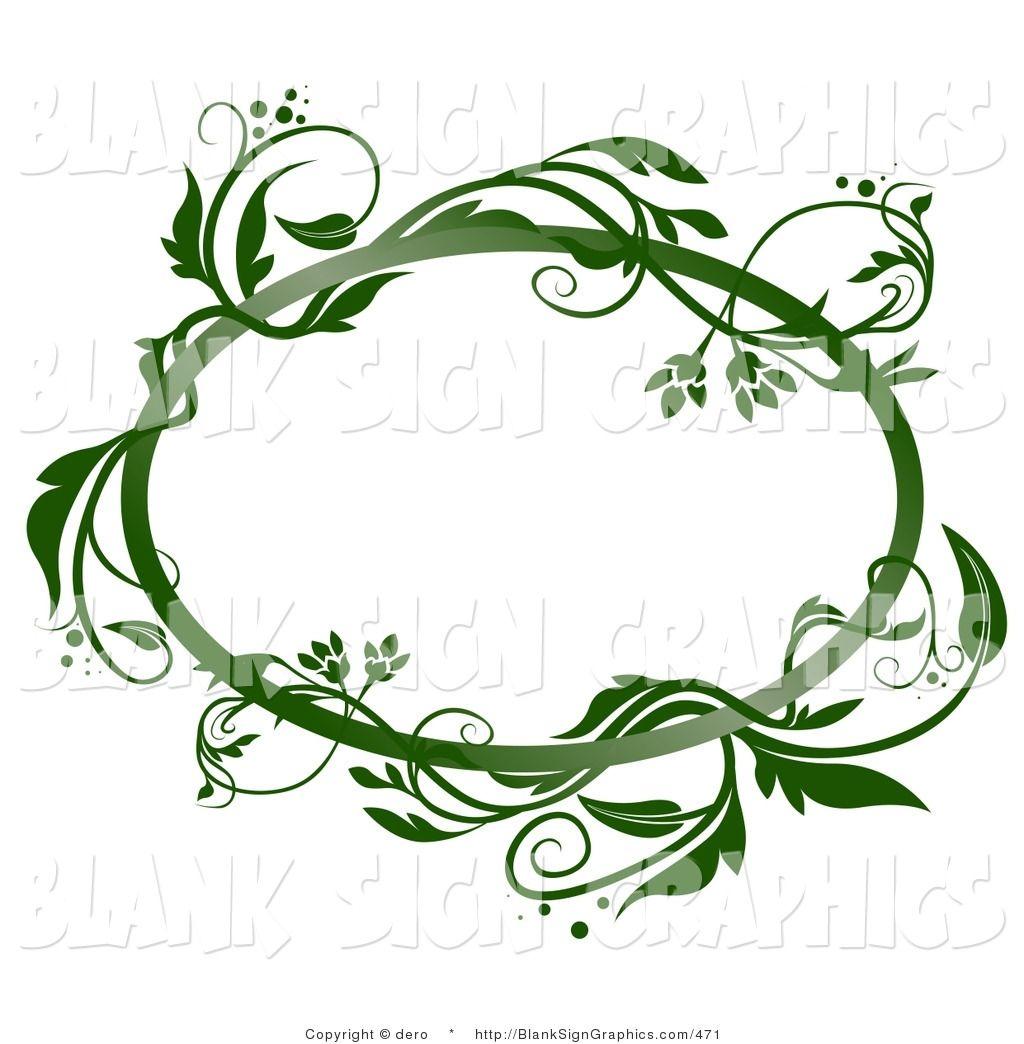 Vine clip art 1024 1044 boarders for Vine craft ideas