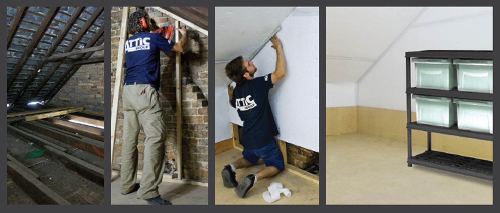 Transforming roof spaces to new dustproof storage areas by the Attic Group & Transforming roof spaces to new dustproof storage areas by the ...
