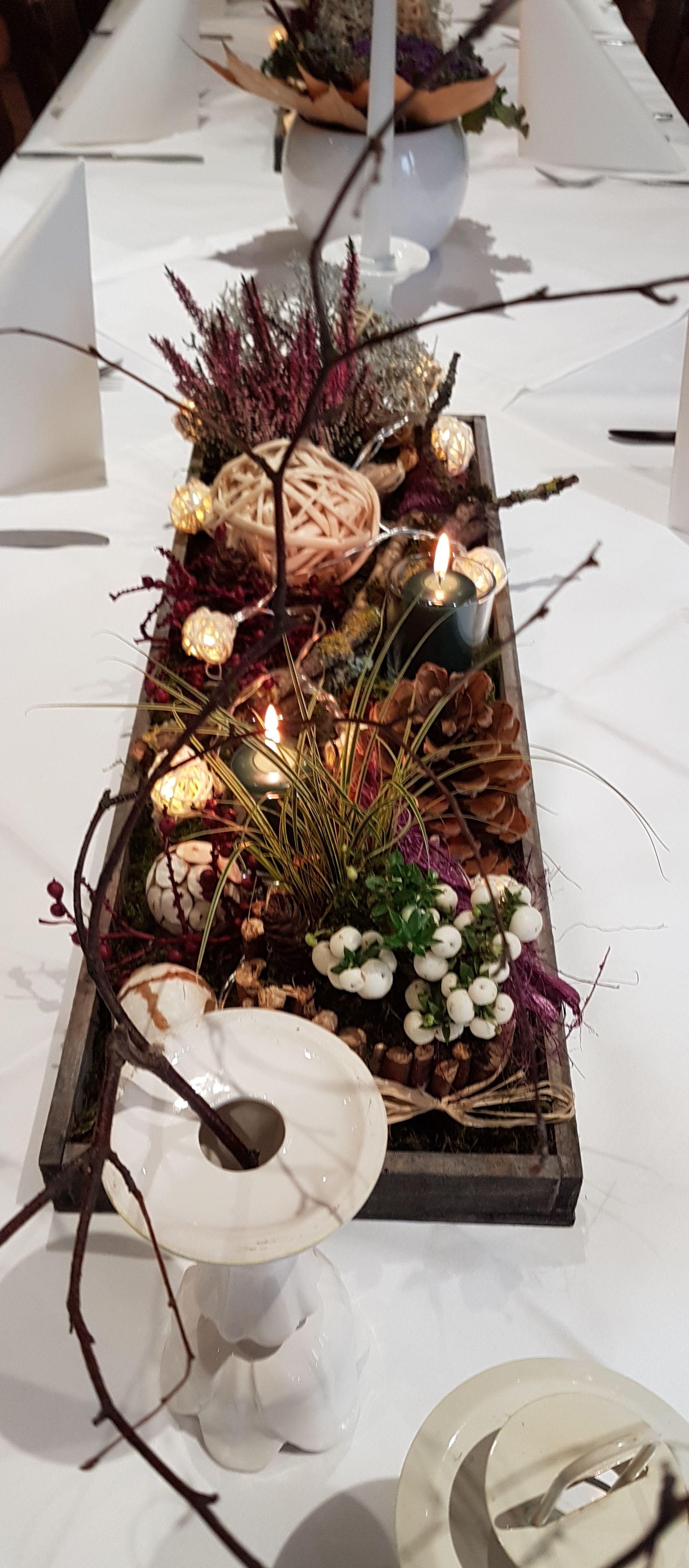herbstliche Tischdeko #herbstlichetischdeko