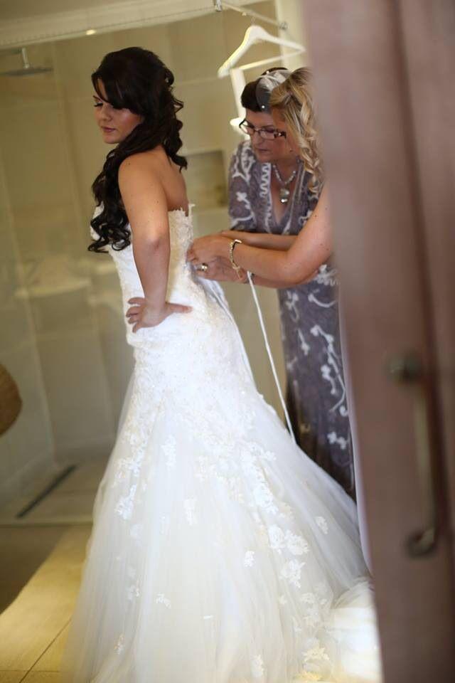 A stunning Sophia Tolli gown called Jillian was breathtaking