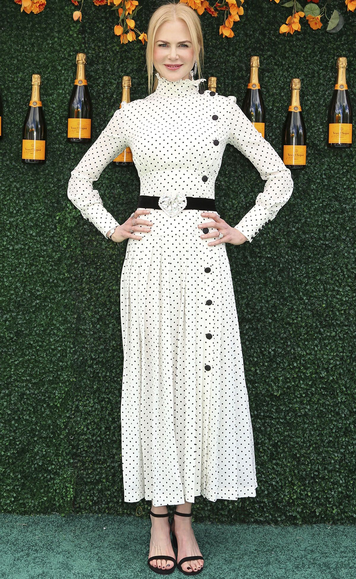 See Stars Chic Dresses At The Veuve Clicquot Polo Clic