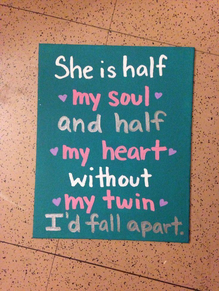 I Love My Twin Sister Quotes Cool 1C14429De12Abd13D12C6E7084Fbfebc 736×981  Hi  Pinterest