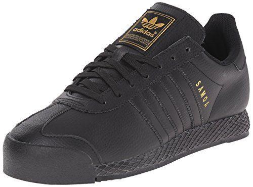 adidas Originals Men's Samoa Retro Sneaker,Black/Black/Gold,9.5 M US - Men's Originals Shoe  - http://ehowsuperstore.com/bestbrandsales/shoes/adidas-originals-mens-samoa-retro-sneakerblackblackgold9-5-m-us