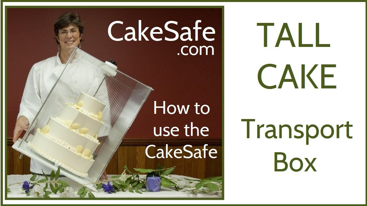 How to use the cakesafe box to travel with a cake