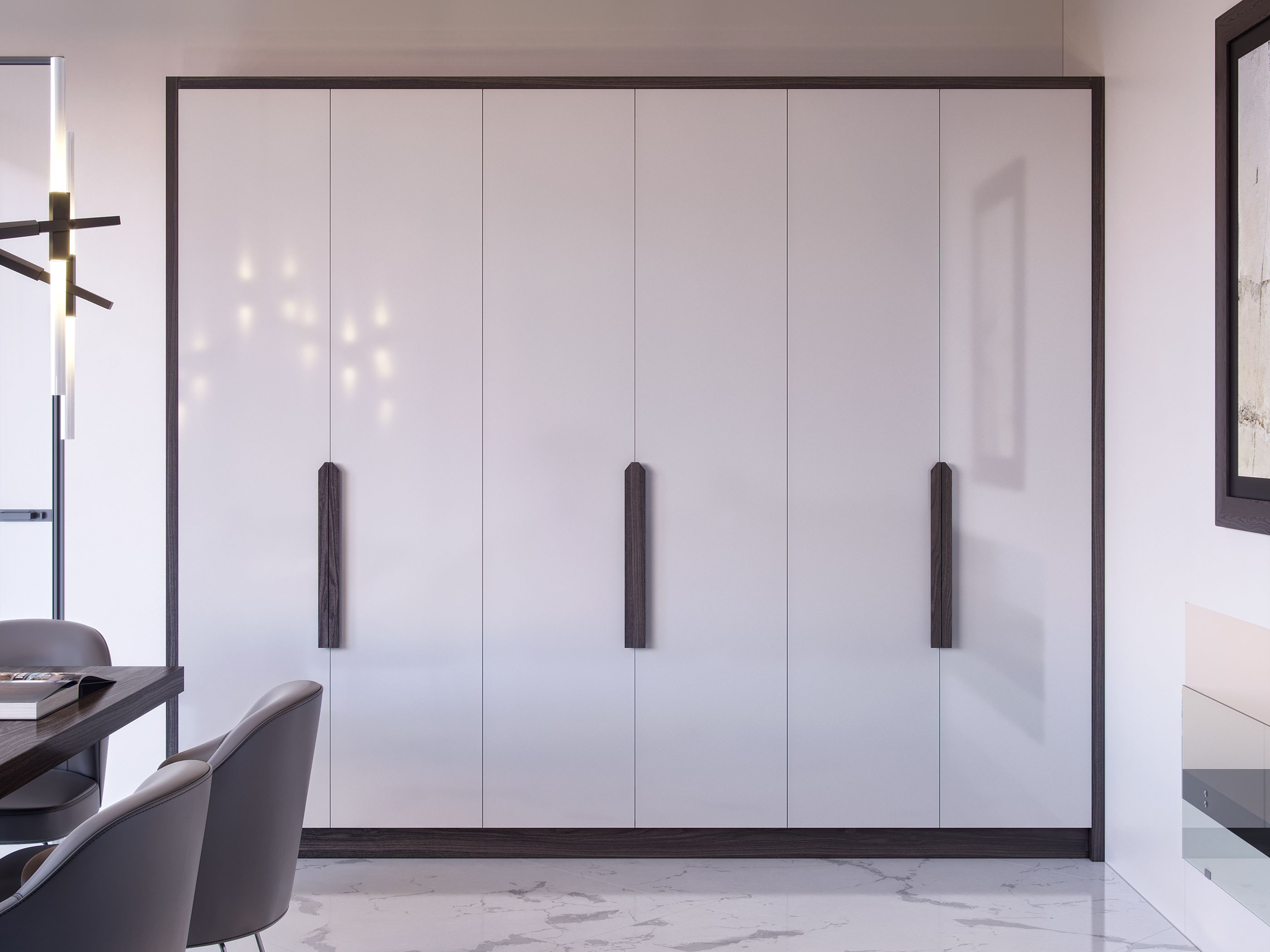 White High Gloss Fitted Wardrobe By Kleiderhaus Fitted Wardrobes Fitted Wardrobe Doors Fitted Furniture