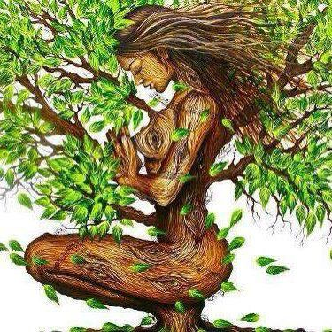 Tree Woman Forgiveness Painting Prints