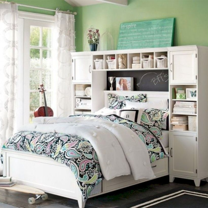 39 Stunning Ideas for Small Rooms Teenage Girl Bedroom #teenagegirlbedrooms